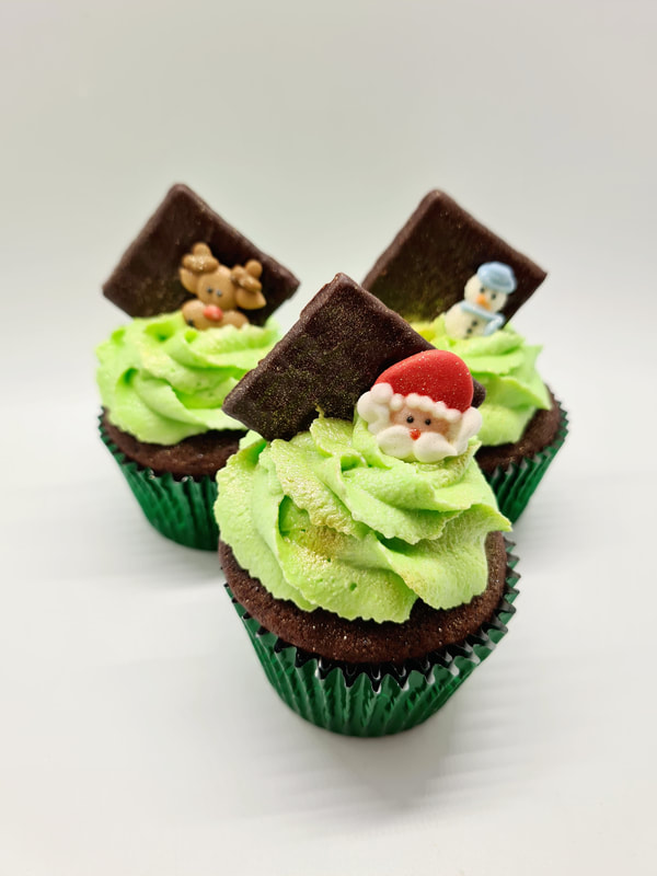 Hayley's Cupcakes in Henley on Thames Chocolate Mint