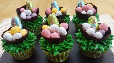 Hayley's Cupcakes in Henley on Thames Easter Baskets