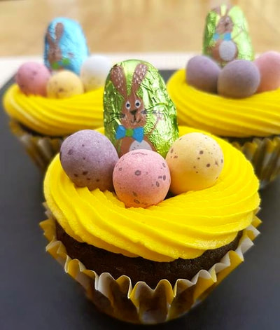 Hayley's Cupcakes in Henley on Thames Easter Nest