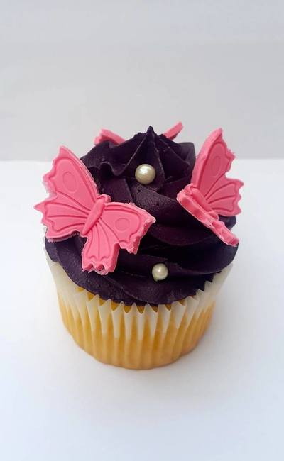 Hayley's Cupcakes in Henley on Thames Butterfly
