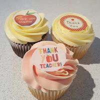 Hayley's Cupcakes in Henley on Thames Teacher Thank You cake