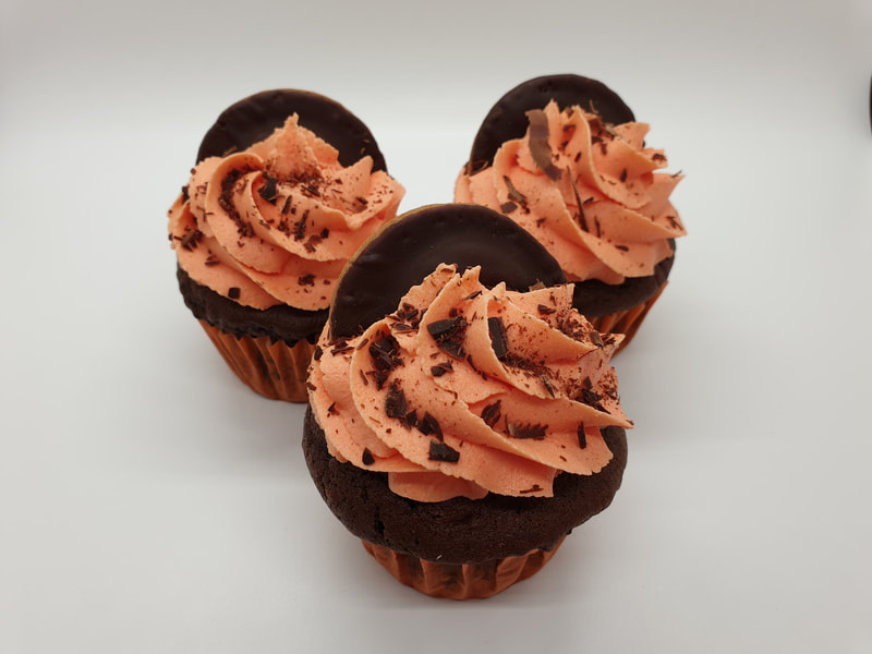 Hayley's Cupcakes in Henley on Thames Jaffa Cake Orange & Chocolate