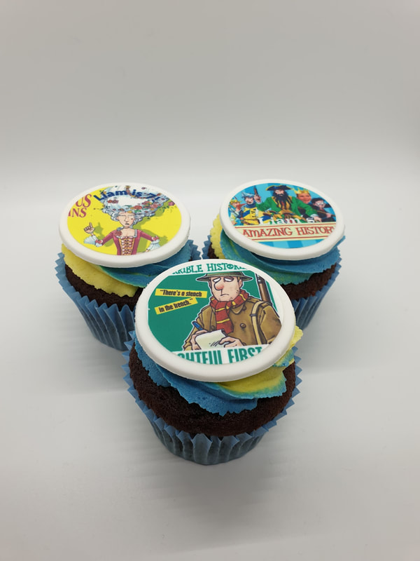 Hayley's Cupcakes in Henley on Thames Horrible Histories