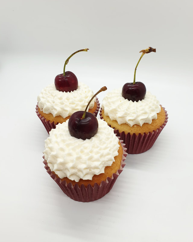 Hayley's Cupcakes in Henley on Thames Black Cherry