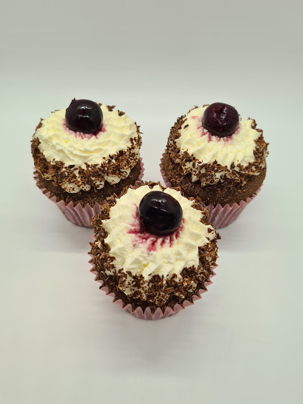 Hayley's Cupcakes in Henley on Thames Black Forest Gateau Kirsch