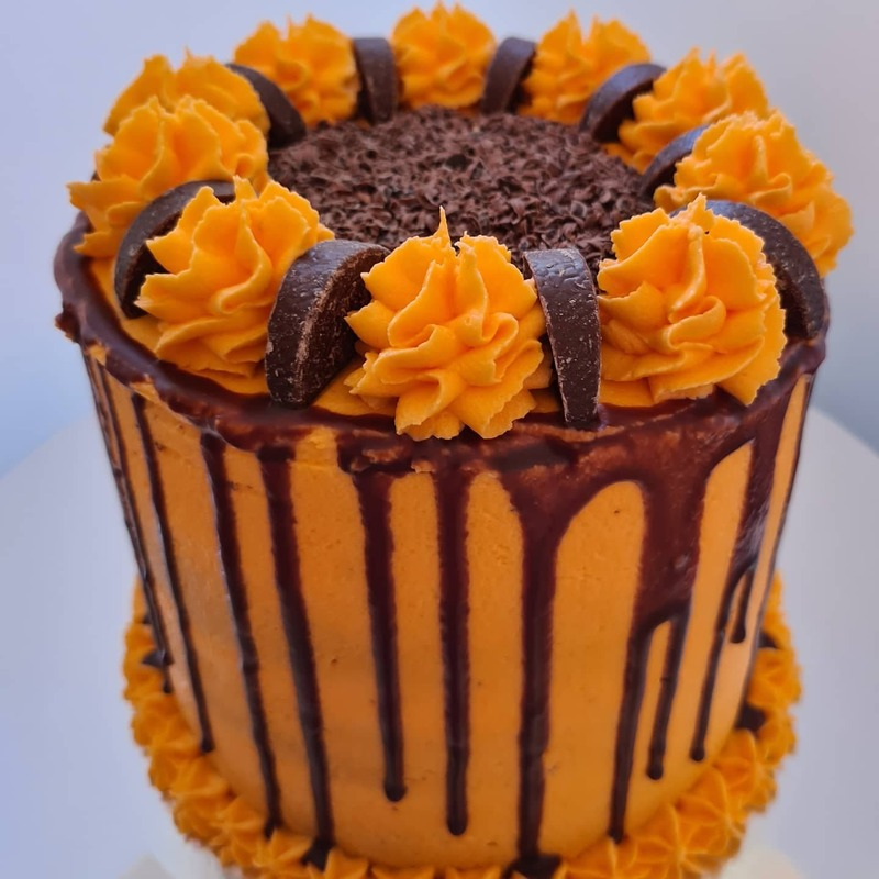 Hayley's Cupcakes in Henley on Thames Celebration cake Chocolate Orange