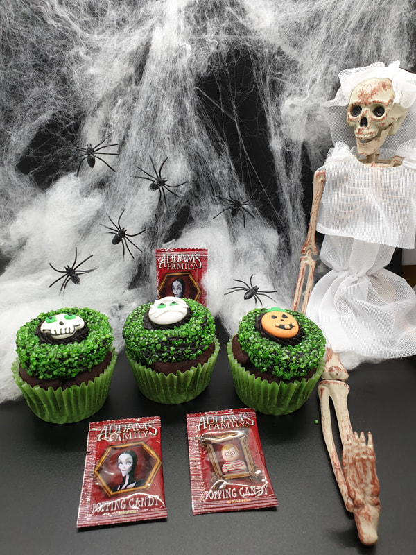 Hayley's Cupcakes in Henley on Thames Halloween ring