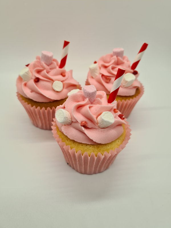 Hayley's Cupcakes in Henley on Thames Strawberry Milkshake