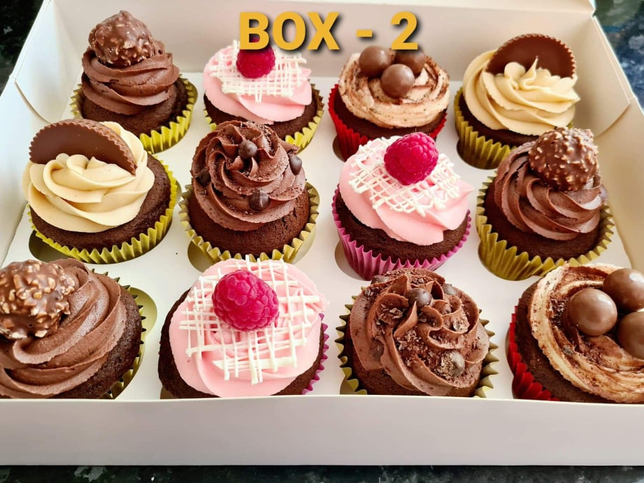 Hayleys cupcakes cake baker in Henley on Thames selection box 2