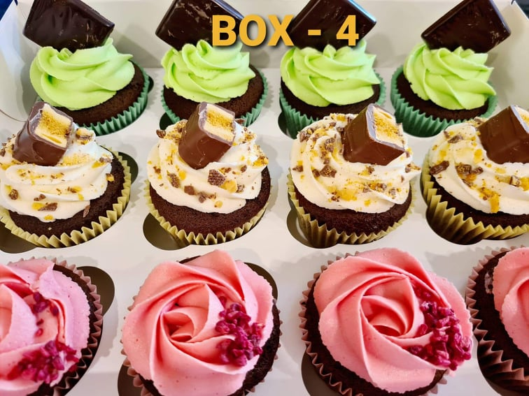 Hayleys cupcakes cake baker in Henley on Thames selection box 4