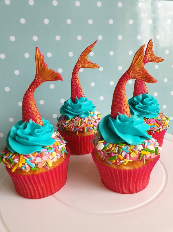 Hayley's Cupcakes in Henley on Thames Mermaid cake