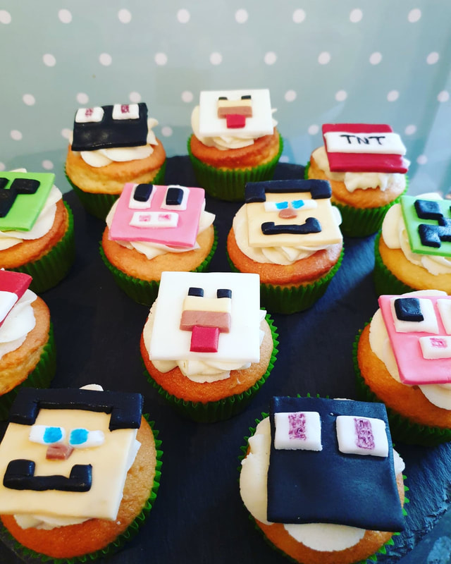 Hayley's Cupcakes in Henley on Thames Minecraft cake