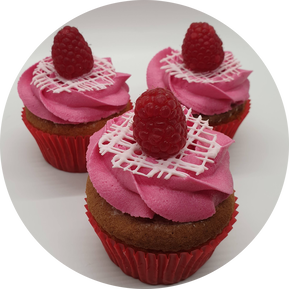 Hayley's Cupcakes in Henley on Thames Raspberry White Chocolate